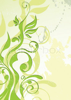 abstract vector green summer background eps 8