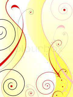 Floral background. Abstract vector illustration.
