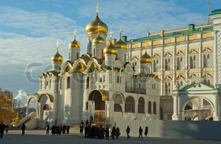 The Annunciation Cathedral, Moscow Kremlin, Russia