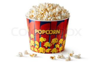 Eimer Popcorn