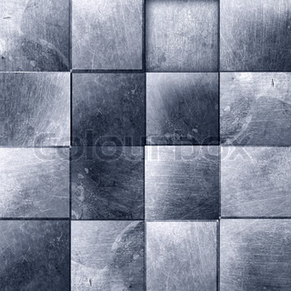 metal grunge texture of old tiles