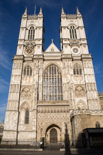 London - Westminster abbey - west facade