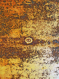 Texture of an old rusty metal surface