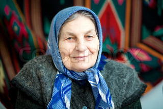 An image of a portrait of a grandmother