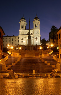 Rome - Spain stairs - morning
