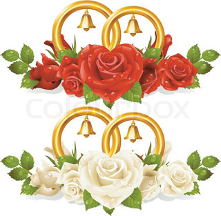 Vector of 'ring, wedding, vector'