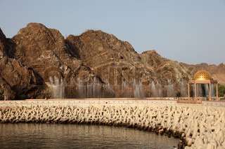 Corniche in Muttrah, Sultanate of Oman