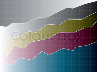 A graphical background that can be used in a business presentation