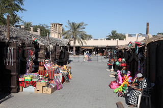 Souq in the Dubai Heritage Village Photo taken at 18th of January 2012