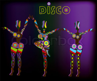 abstract people from different elements of dance funny dances