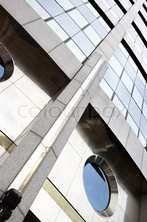Modern office building, may be used as background