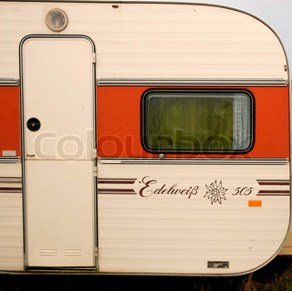 Edelweise Camper with Door, Rounded Window
