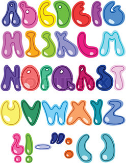 Cheerful letters