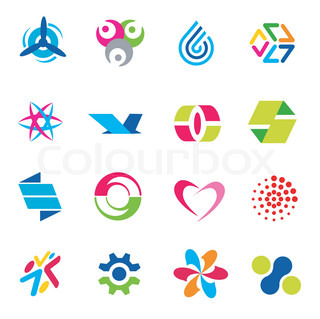Abstact icons for logos