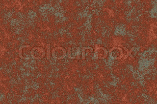 Red rust on metall background
