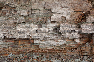 Image of aged wall with nice rock texture