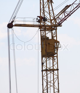 The tower crane in Russia