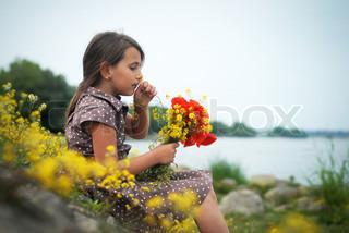 Billede af 'summer, følelser, børn'