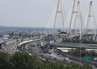 modern   cable-stayed   bridge