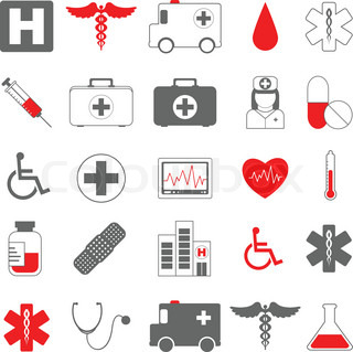 Healthcare and medical vector icons