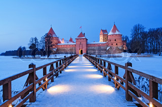 Trakai Trakai is a historic city and lake resort in Lithuania It lies 28 km west of Vilnius, the capital of Lithuania