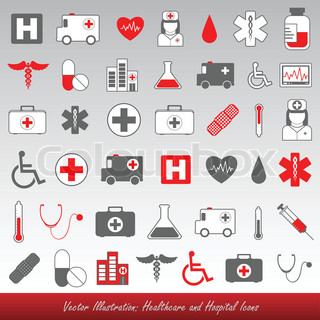 Healthcare and medical icons