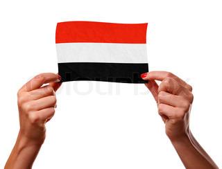 The Yemeni flag