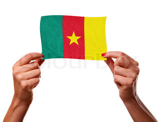 The Cameroonian flag