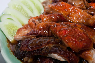 Roast Duck Thai food