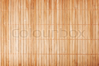 Bamboo Mat Background Stock Photo Colourbox