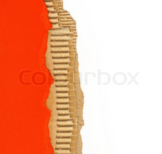 ripped recycled cardboard background texture