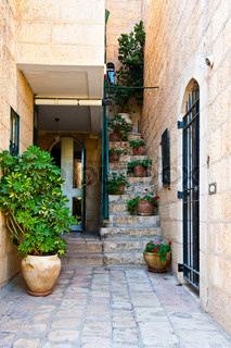 Jerusalem Courtyard