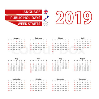 calendar 2019 in english language with public holidays the country of new zealand in year 2019