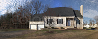 Residential House Panorama