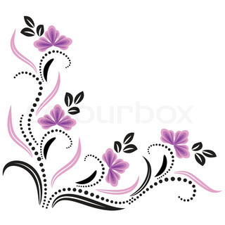 Vector of 'decorative, flower, pattern'