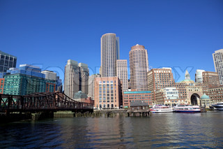 Boston Financial District, Massachusetts, USA