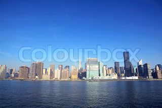 New York City with Manhattan skyline