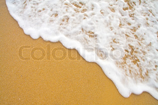 sand and moving wave background