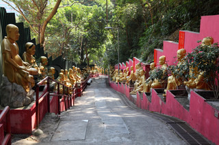 Temple of 10000 Buddhas in Hong Kong
