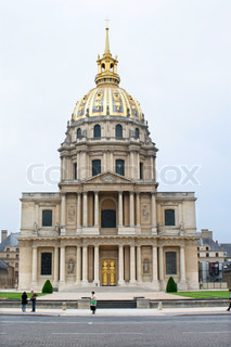 Paris - Les Invalides church