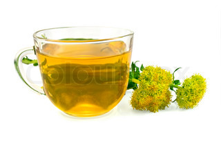 Herbal Tea and Flowers Rhodiola rosea