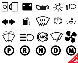 Car Teil icon set 15
