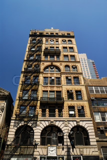 Art deco style building in new york city for Deco style new york