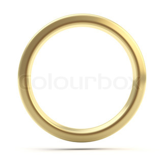Golden ring copyspace torus isolated