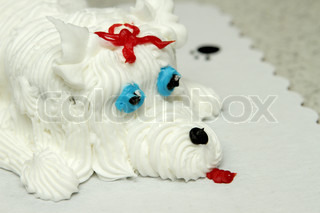personalized birthday cake dog