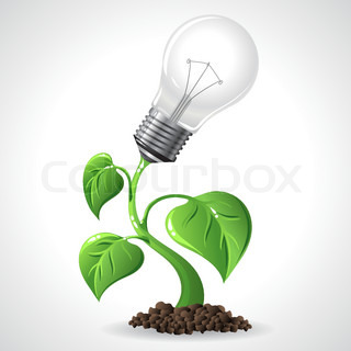 Green Energy Konzept Vector Illustration