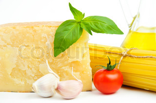 Basic italian food ingredients
