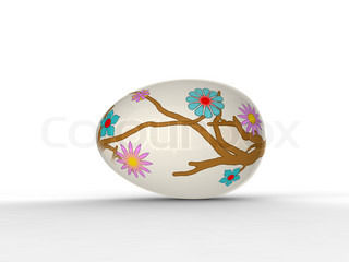 the art egg painting