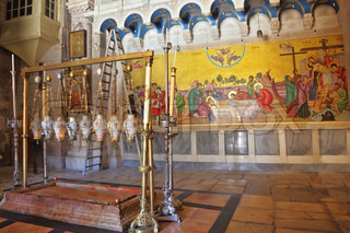 Temple of the Holy Sepulcher in Jerusalem