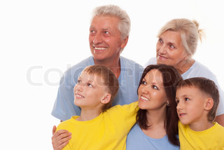 nice family of five